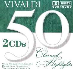 50 Classical Highlights: Vivaldi flac mp3