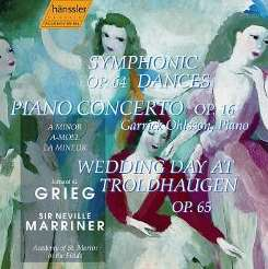 Neville Marriner / Academy of St. Martin-in-the-Fields / Garrick Ohlsson - Grieg: Symphonic Dances; Piano Concerto; Wedding Day at Troldhaugen flac mp3