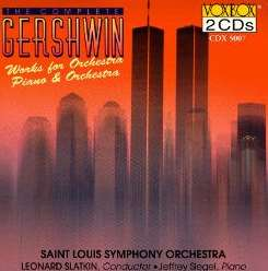Jeffrey Siegel / Leonard Slatkin - Gershwin: Works for Piano & Orchestra flac mp3