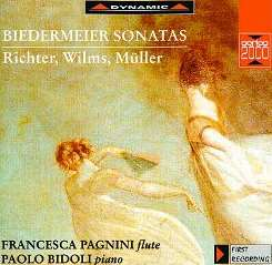 Richter, Wilms and Müller: Biedermeir Sonatas flac mp3