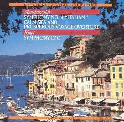 Anton Nanut - Mendelssohn: Symphony No. 4; Calm Sea and Prosperous Voyage Overture; Bizet: Symphony in C flac mp3