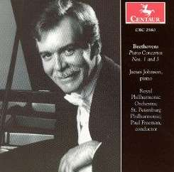 James Johnson / Paul Freeman - Beethoven: Piano Concertos Nos. 1 & 3 flac mp3