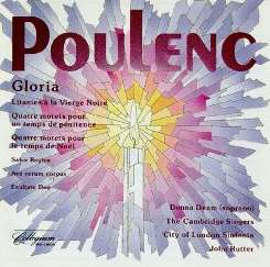 Cambridge Singers / John Rutter / City of London Sinfonia - Poulenc: Gloria and Other Choral Music flac mp3